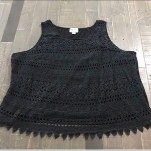 Worn Crochet Top but still has wears left